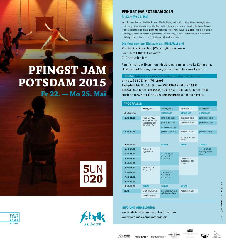 Pfingst Jam Potsdam 2015