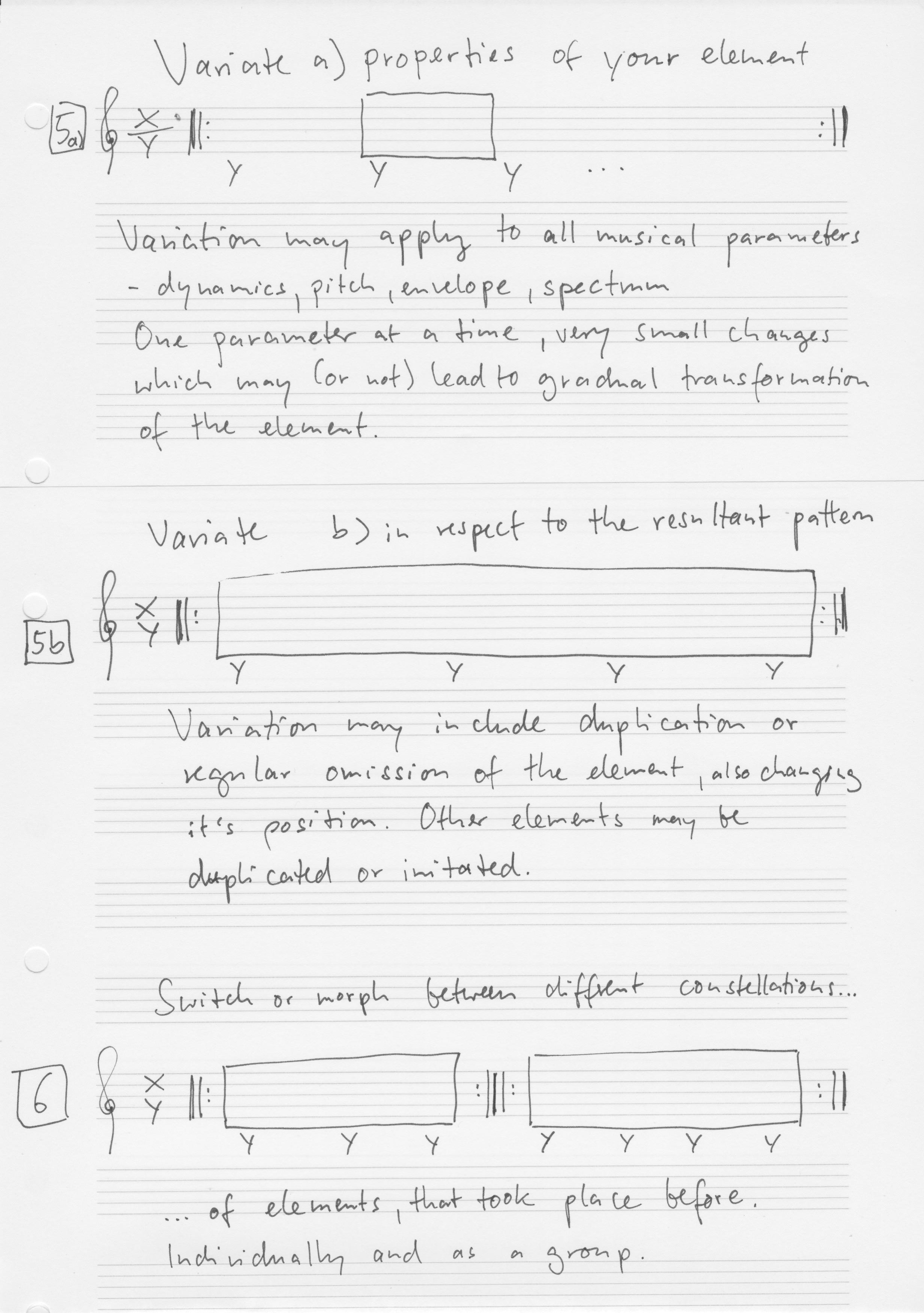 MInimal Improvisation Score 2